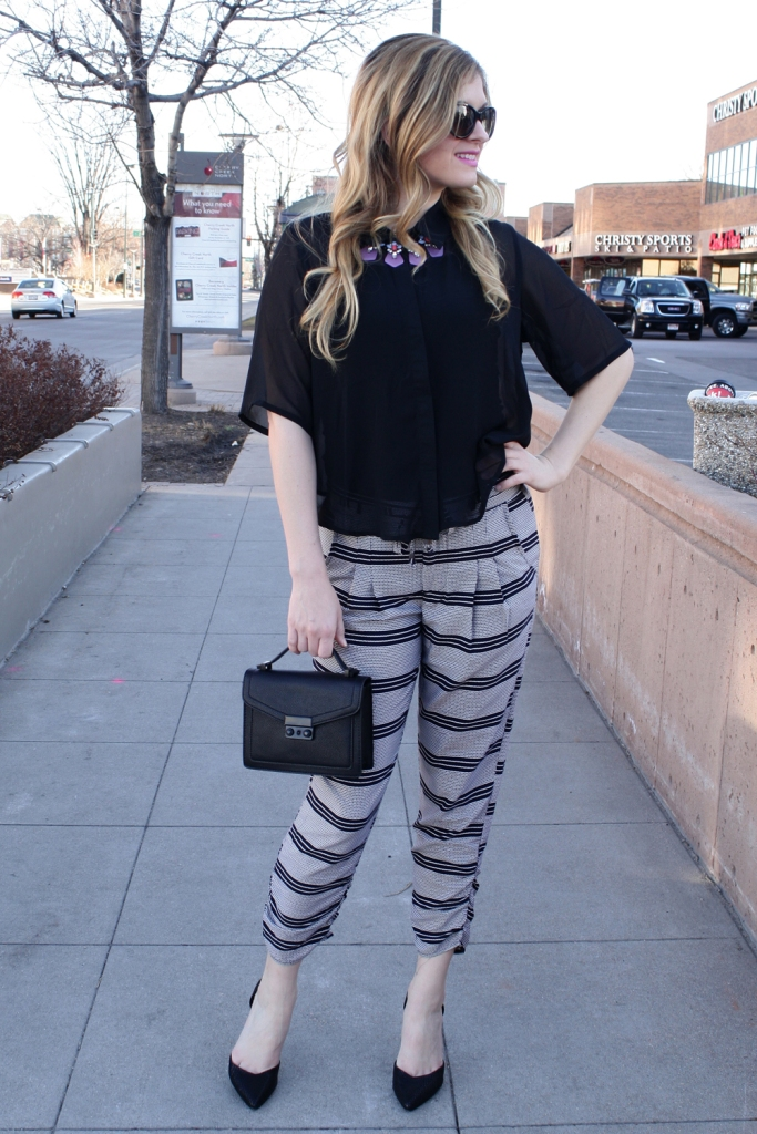Chic Work Outfit // My Boring Closet