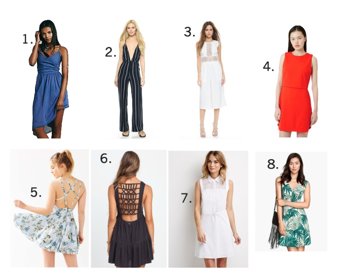 Spring Dresses and Rompers Under $100 // My Boring Closet